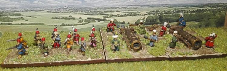 Artillerie ottomane.... Du lourd !!