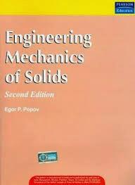 Engineering Mechanics Of Solids By Egor P Popov Pdf