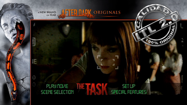 The Task DVDR Menu Full Español Latino