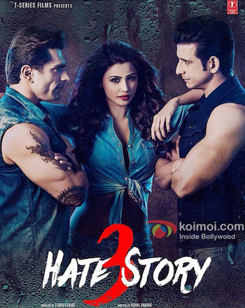 Poster Of Bollywood Movie Hate Story 3 (2015) 300MB Compressed Small Size Pc Movie Free Download world4freein.com