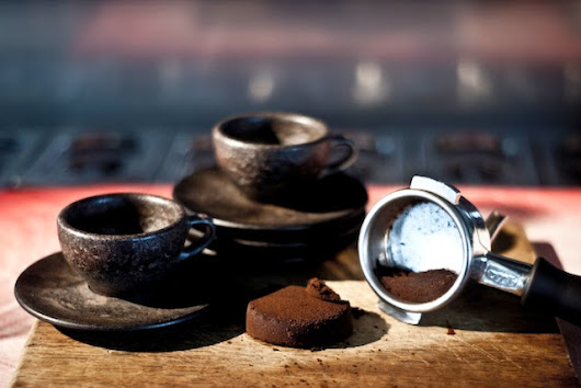 Design and Recycled material | From coffee grounds to Coffee Cups | Amsterdam Coffee festival