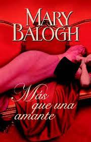 Más que una Amante, Mary Balogh