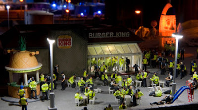 A scene from Jimmy Cauty's Aftermath Dislocation Principle