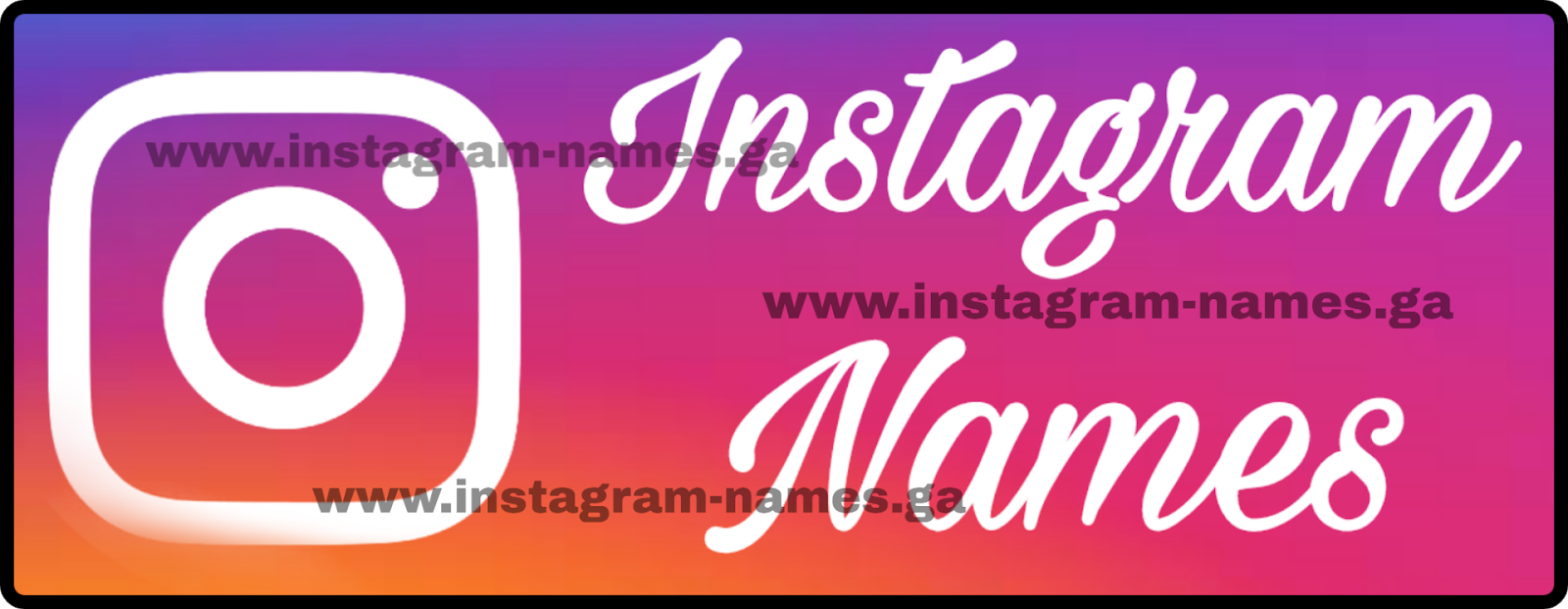 400+ BEST 2019 Instagram Names   Usernames for Boys and Girls