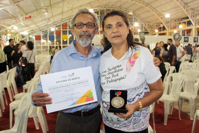 Manoelzinho e Roza, o Casal Educação da Fest