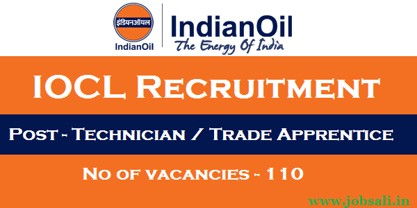 Indian Oil Recruitment, IOCL Careers, Indian Oil Apprenticeship jobs