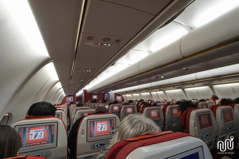 รีวิว Hong Kong Airlines ไปญี่ปุ่น