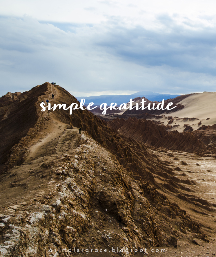 A weekly series focusing on practicing gratitude.  #gratefulheart #gratitude #feelingthankful - Simple Gratitude | 38 - A Simpler Grace
