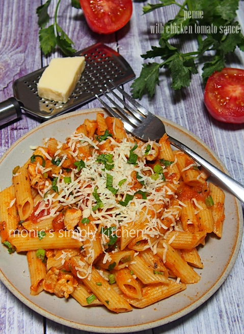 penne saus tomat homemade