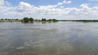 Bridge across the White Nile in Juba