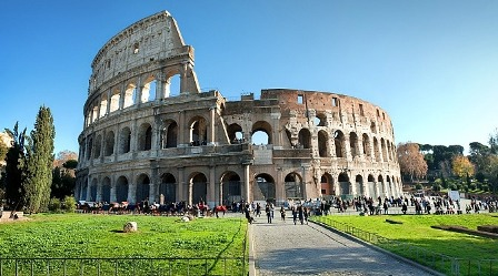 Roma Tempat Bulan Madu Paling Romantis