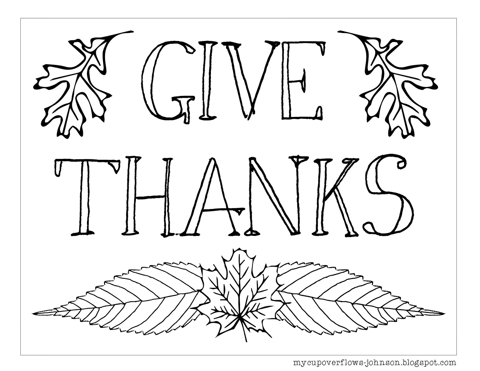 coloring pages thanks - photo#18