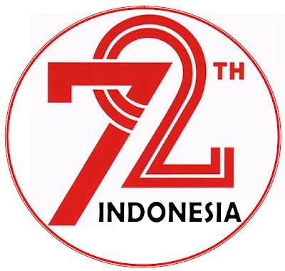 Logo resmi peringatan HUT RI yang ke 73 tahun 2020