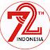 Logo resmi peringatan HUT RI yang ke 72 tahun 2017