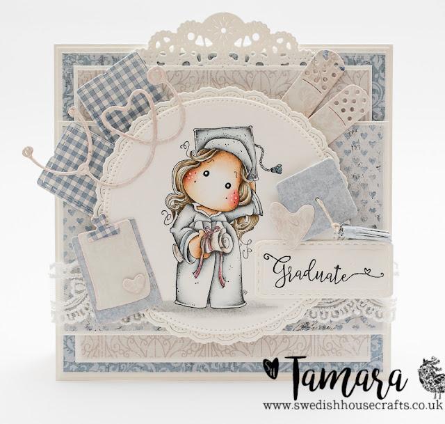 Graduation card | By Tamara