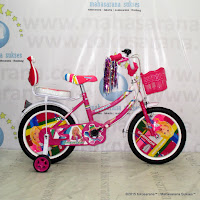 Sepeda Anak Emerson EM226 Girl Mini 16 Inci