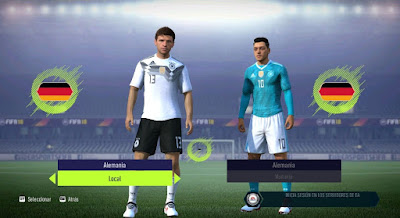 FIFA 14 / FIFA 15 / FIFA 16 HD Kitpack World Cup 2018 by Derarzt26