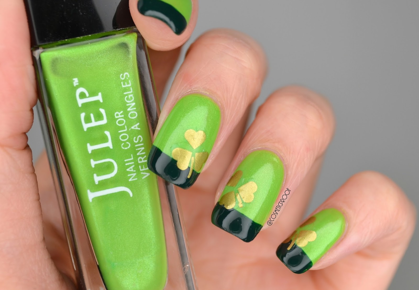NAILS | Happy St. Patrick\'s Day! | Cosmetic Proof | Vancouver beauty ...