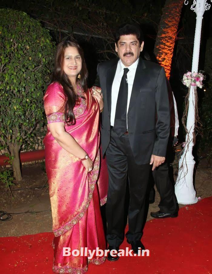 Pankaj Dheer, Ahana Deol Wedding & Reception Pics