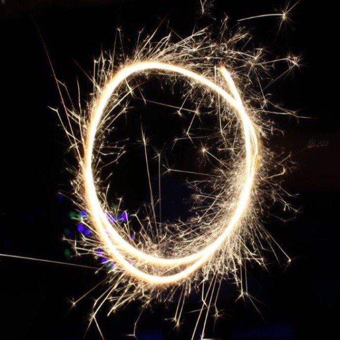 New Years Sparkler