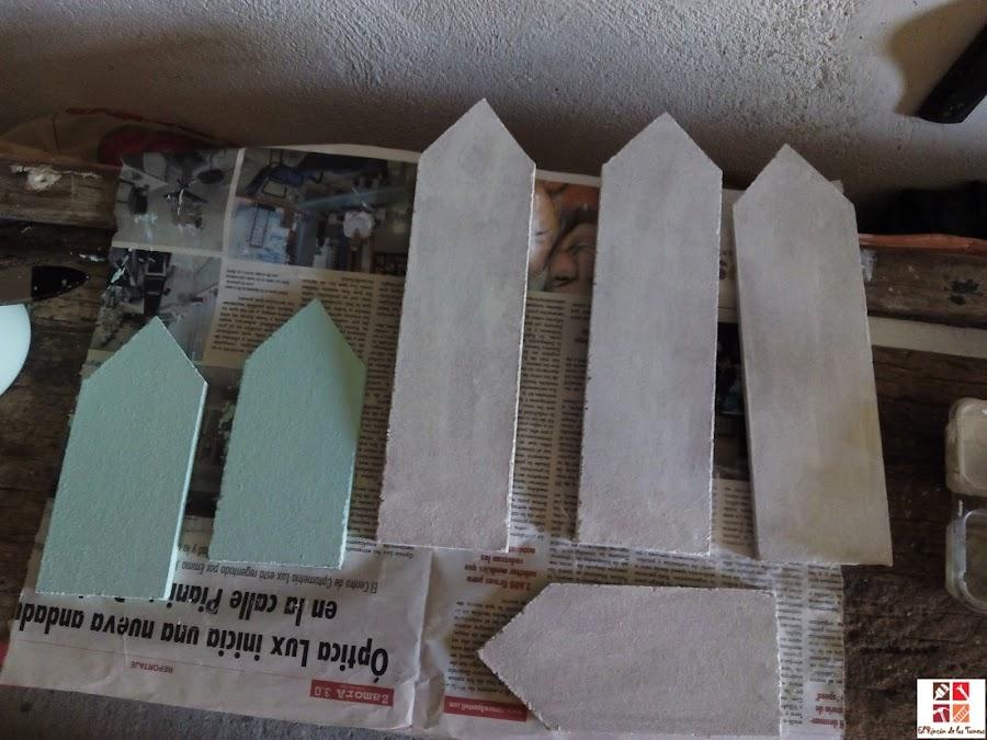 DIY: hacer carteles para el jardín