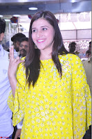 Mannara Chopra Looks Cute in Yellow Salwar Suit ~  Exclusive 43.JPG