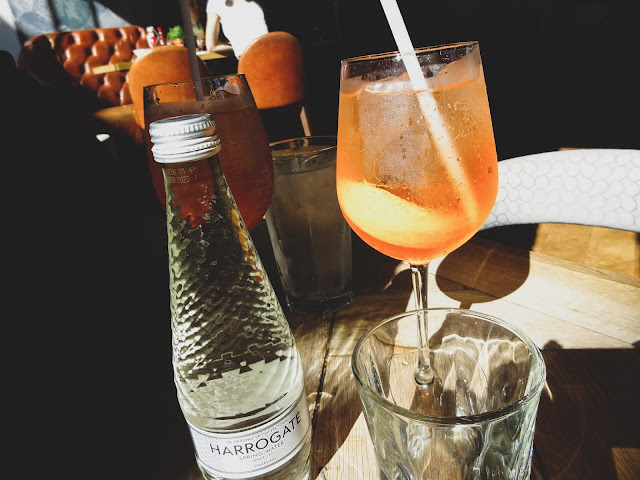 Sparkling Water and Aperol Spritz Banyan Manchester