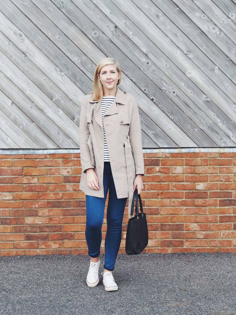 asseenonme, bluejeans, casualfashion, fashionbloggers, fashionpost, fblogger, fbloggers, joules, lookoftheday, lotd, ootd, outfitoftheday, primark, springtrench, trainers, trenchcoat, whatimwearing, wiw,