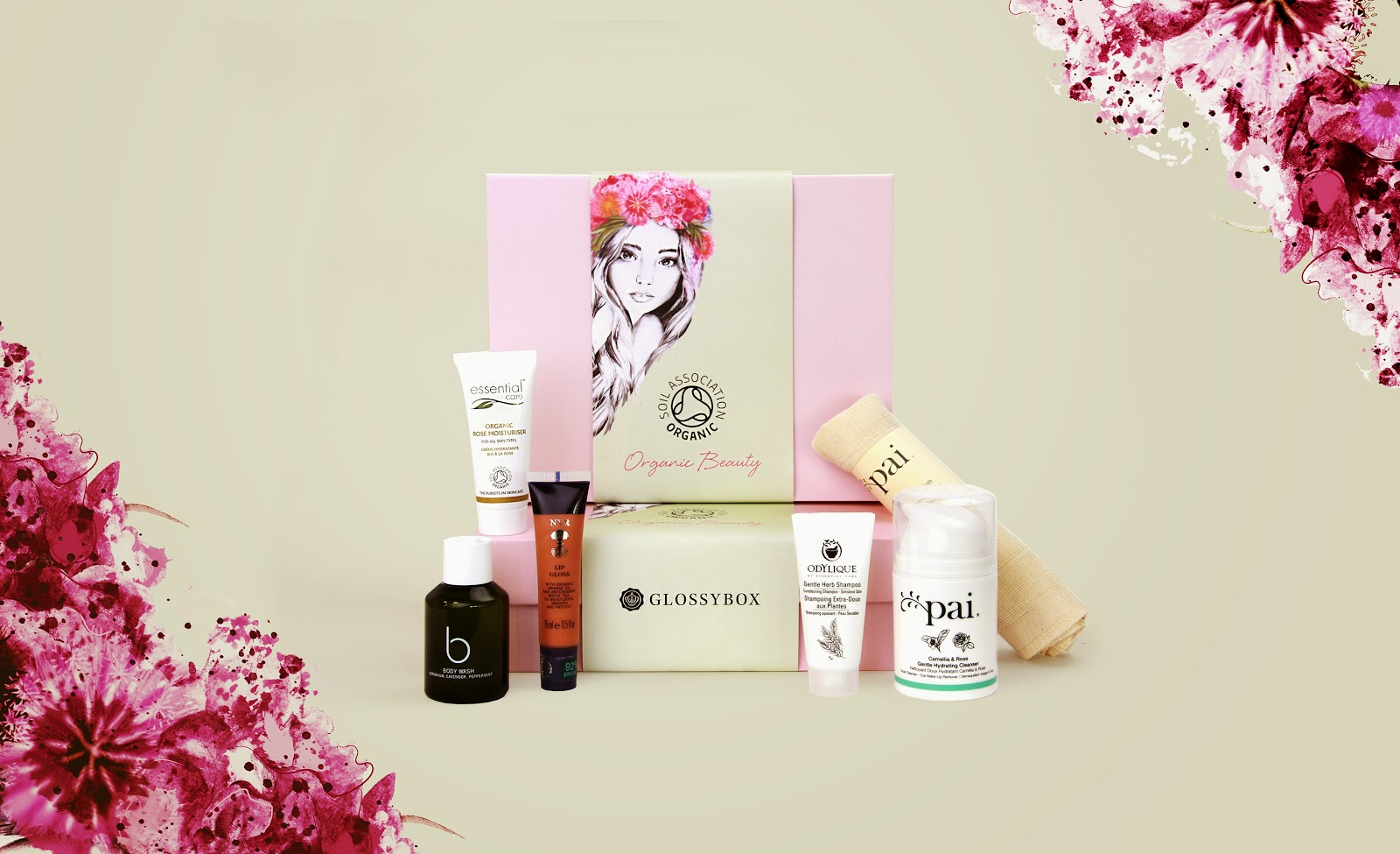 Glossy Box Organic Beauty Box