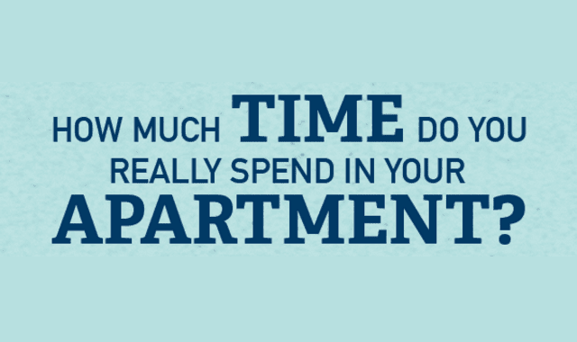 How Much Time Do You Spend in Your Apartment?