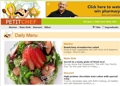 petitchef bewitching strawberries salad recipe