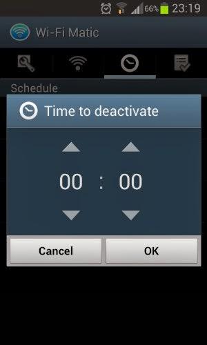 تشغيل الويفي أو إيقافه تلقائيا و في وقت محدد