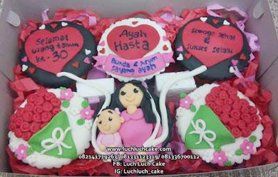 Cupcake Ulang Tahun Ibu dan Anak