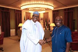 buhari and david mark