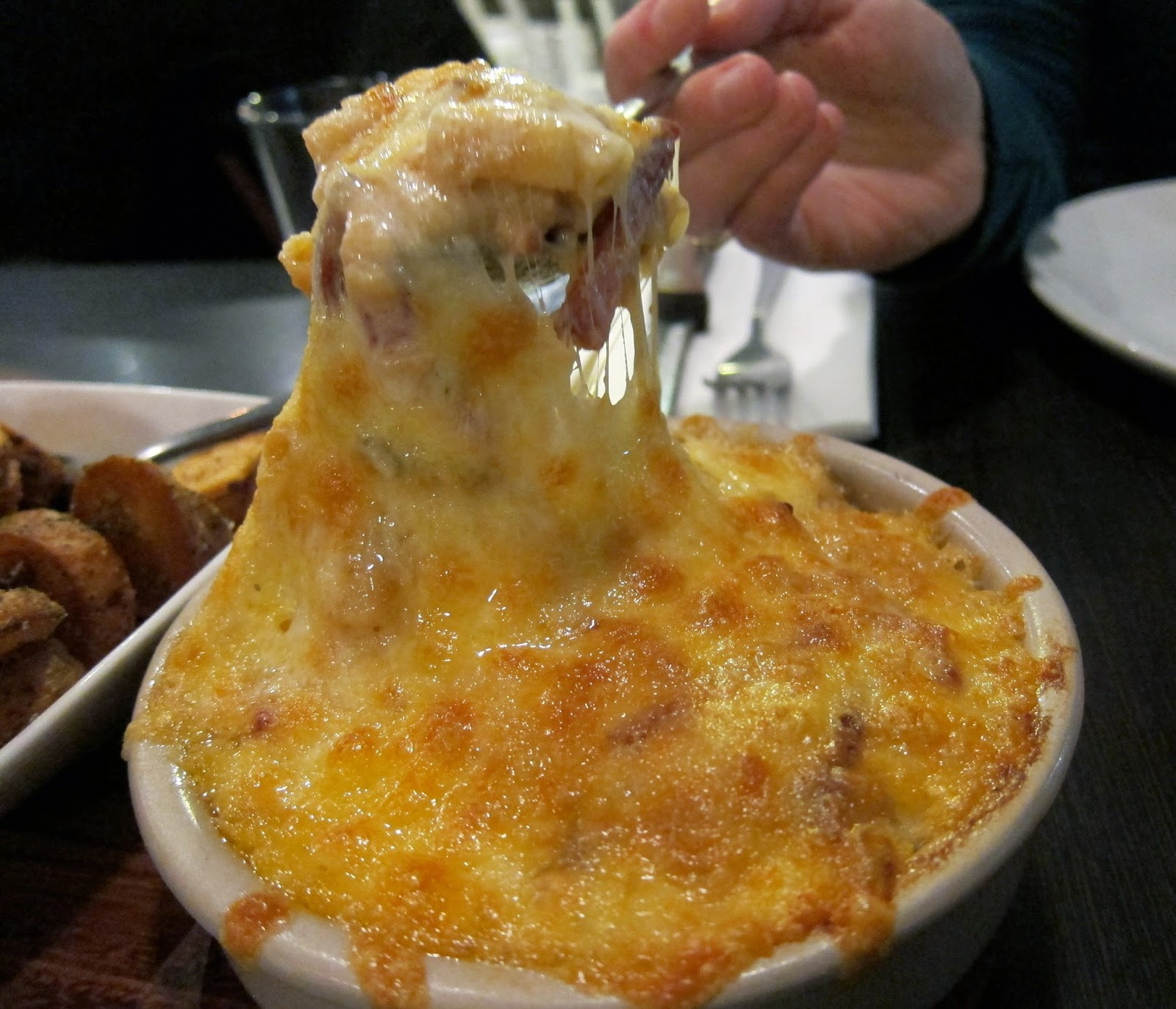 Smoked mac and cheese food porn third wave prahran