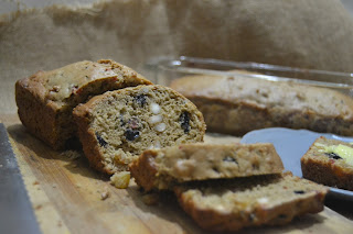 Sliced Fruity TeaCake