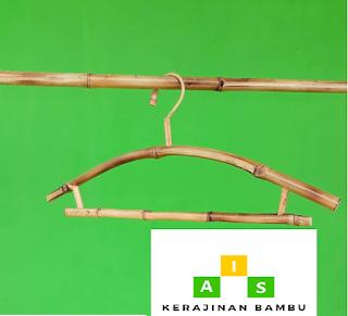 Gantungan Baju Dari Bambu