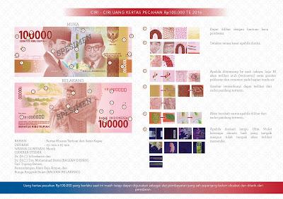 uang baru nkri Rp100.000