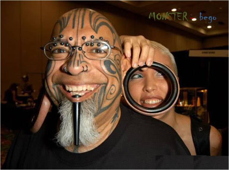 Monster Bego Tatto Bego Di Wajah Asli Lucu Dan Kocak