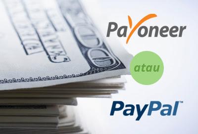 Perbedaan Atara Payoneer dengan Paypal