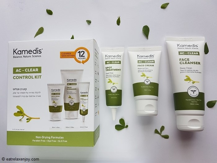 סדרת AC-Clear של קמדיס לטיפול באקנה