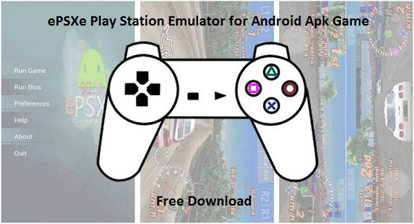 Download ePSXe Play Station Emulator for Android Apk Game Free