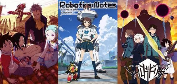 daftar Anime Sci-Fi terbaru 2018