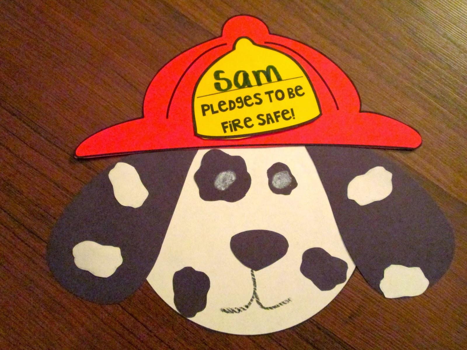 Julz Treasure Chest Fire Safety Freebie