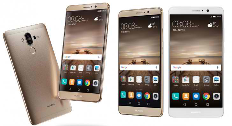 Huawei Mate 9 With 20 MP + 12 MP 2nd Gen Leica Cameras With OIS And EMUI 5.0 Now Official!
