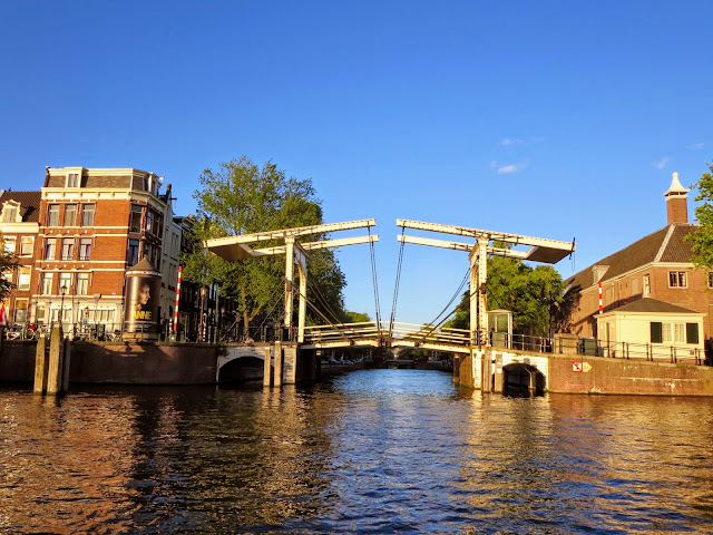 Top places to visit in the Netherlands: bridge over a canal in Amsterdam