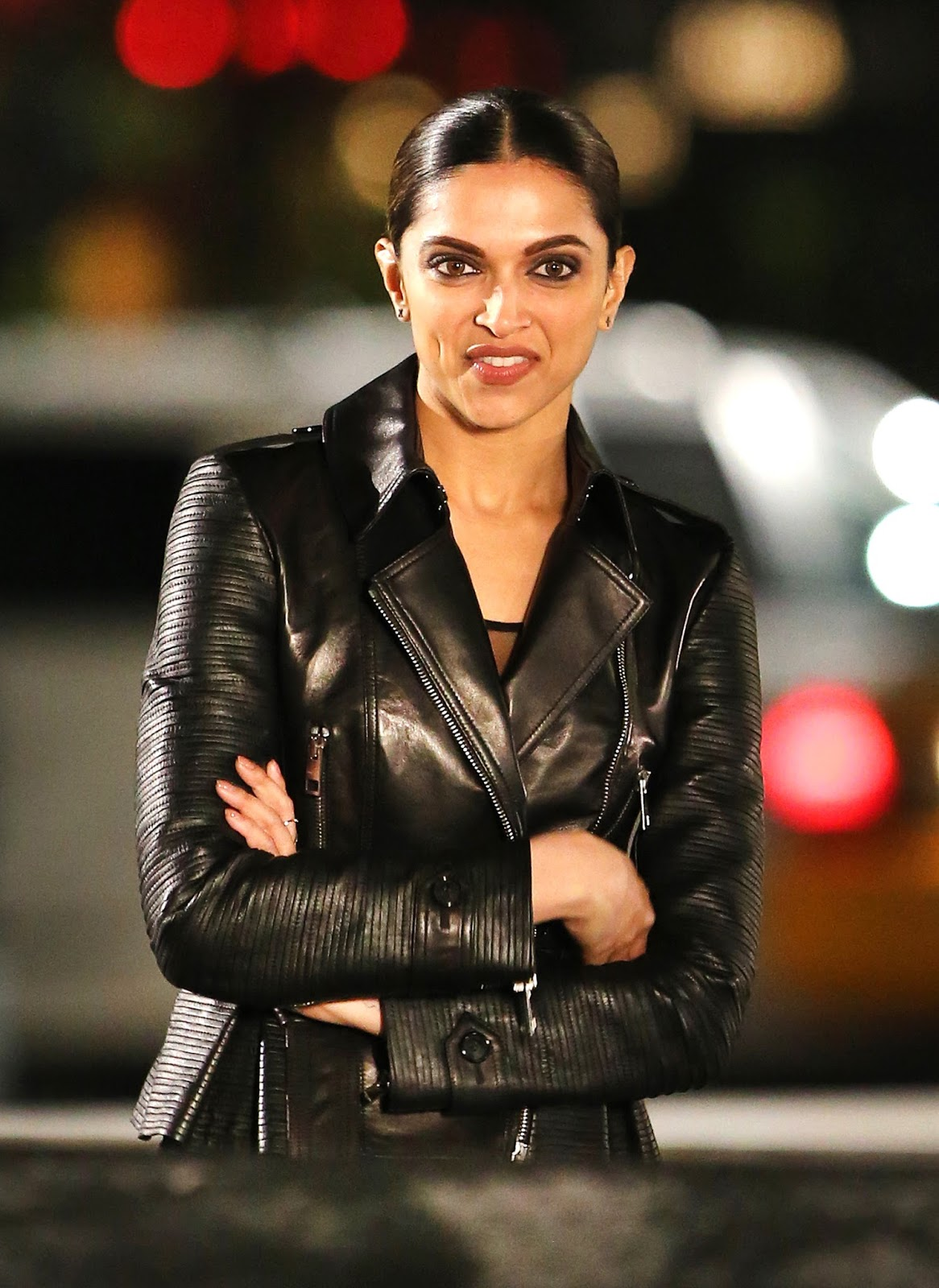 High Quality Bollywood Celebrity Pictures Deepika Padukone Looks Gorgeous On The Sets Of Xxx -3947