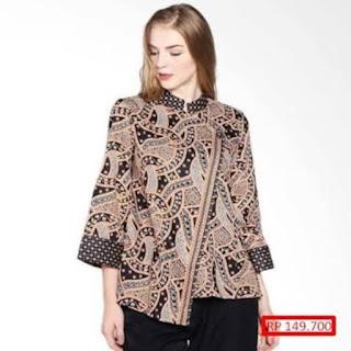 koleksi desain baju batik modern