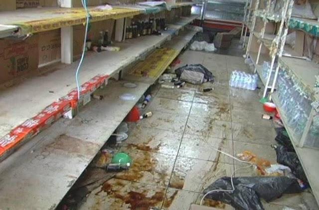 Colectivos maduristas Atacaron, saquearon y quemaron una dulcería en San Cristóbal