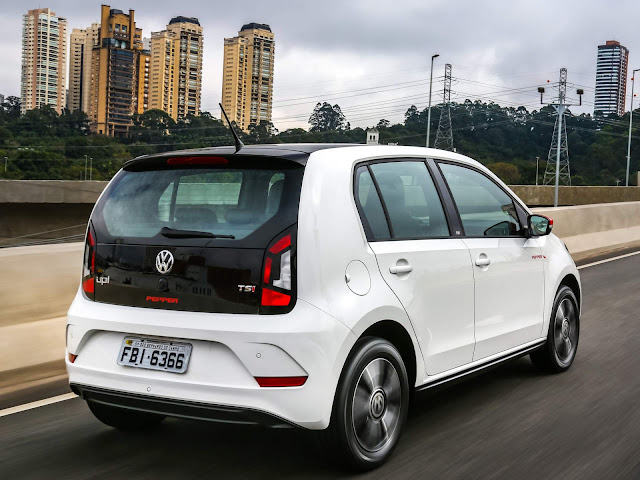 VW Up! TSI 2018 Pepper